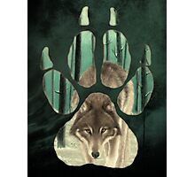 PAW PRINT Toxic Wolf Photographic Print