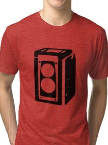 Duaflex love (black) Tri-blend T-Shirt