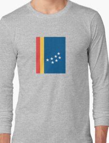 Flag of Durham, North Carolina Long Sleeve T-Shirt