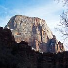 The Great White Throne - Zion National Park by Stephen Beattie