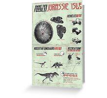 Jurassic Isle : Print Art Greeting Card