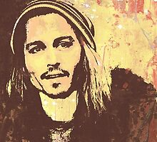 JOHNNY DEPP ONE by Inechifor7