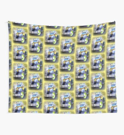 Driving away Wall Tapestry