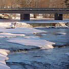 Winter with the bridge to spring. by loiteke