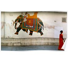 the elephant on the wall Poster