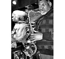 LA and His Sax Photographic Print