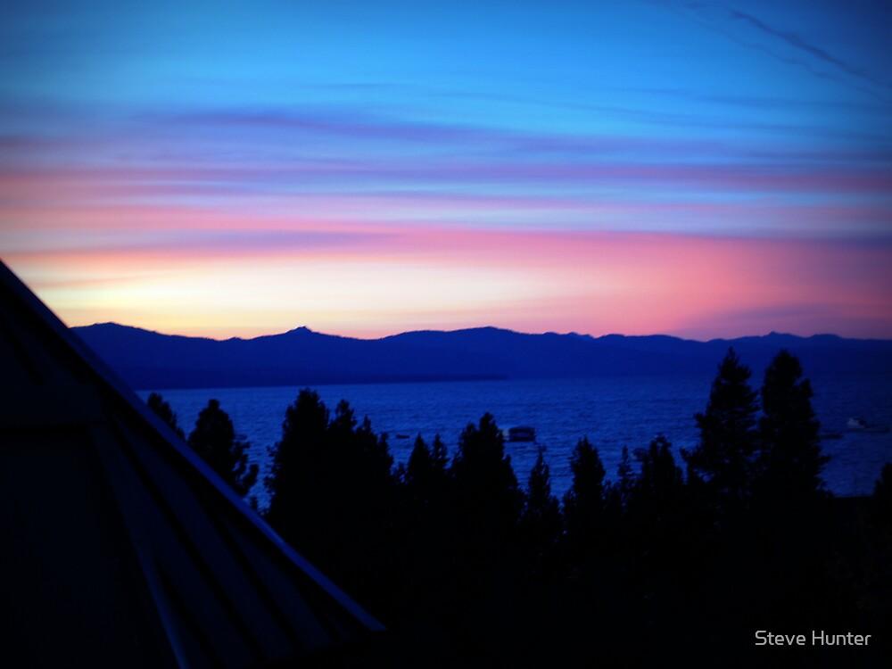Tahoe Sunset by Steve Hunter