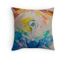 Conception Cross-section Throw Pillow
