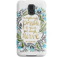 Anything's Possible Samsung Galaxy Case/Skin