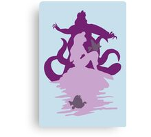 Under The Sea (baby blue) Canvas Print