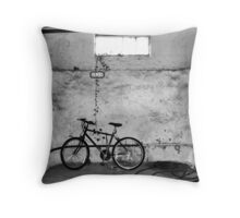 Bike Lot 13 #2 Throw Pillow
