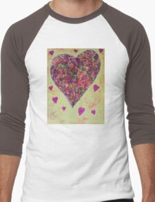 Love has many colours Men's Baseball ¾ T-Shirt