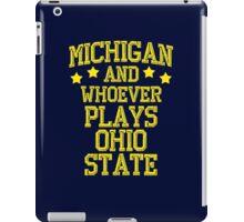 Michigan #1 iPad Case/Skin