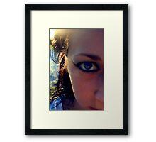 eye catching. Framed Print