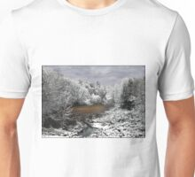 First Snow on the Oxbow Unisex T-Shirt
