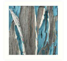 Drive In Blue Art Print