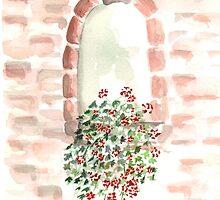 Window in S. Gemignano by glorylane