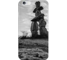 Stone Man That Points The Way iPhone Case/Skin