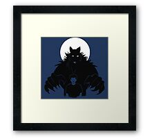 Beast in me (2) Framed Print