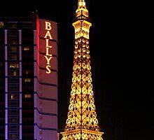 Eifel Tower - Las Vegas by Anne-Marie Bokslag