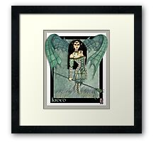 Jaded fantasy art Framed Print