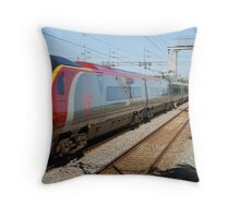 Virgin train! Throw Pillow