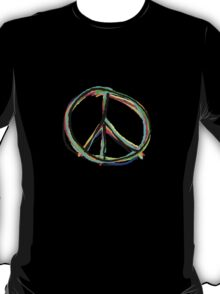 Peace in all colors T-Shirt