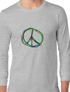 Peace in all colors Long Sleeve T-Shirt