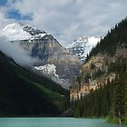 Lake Louise - 5 by Barbara Burkhardt