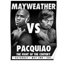 Floyd Money Mayweather VS Manny Pacman Pacquiao May 2nd 2015 Poster