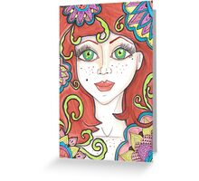 Ginger Fairy Greeting Card