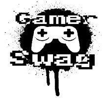 Gamer Swag Photographic Print