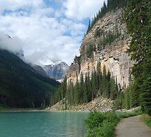 Lake Louise  - 2 by Barbara Burkhardt