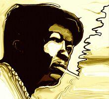 John Lee Hooker by Jeffrey D'Ottavio