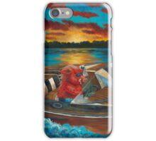 Hog'n the Lake by Shawna C Elliott iPhone Case/Skin