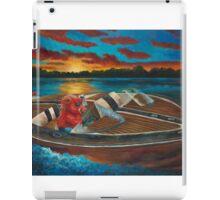 Hog'n the Lake by Shawna C Elliott iPad Case/Skin