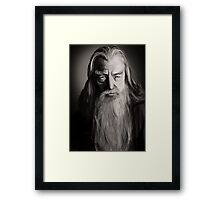 Gandalf Framed Print