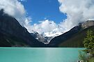 Lake Louise - 1 by Barbara Burkhardt