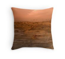 Rocky Floor Throw Pillow