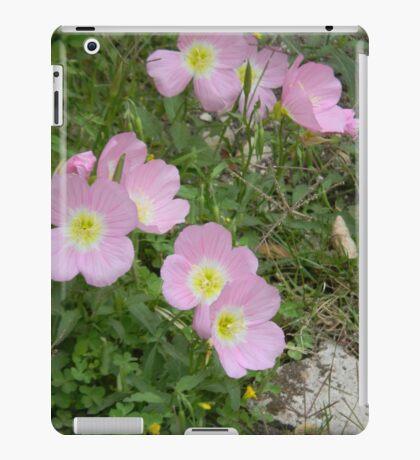 Pink Evening Primrose iPad Case/Skin