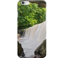 Below Indiana's Anderson Falls iPhone Case/Skin