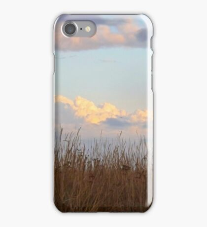 Clouds of the Dungeness Bay iPhone Case/Skin