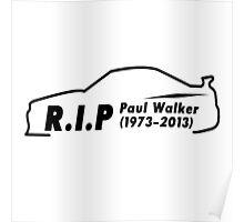 Rip Paul Walker  Poster