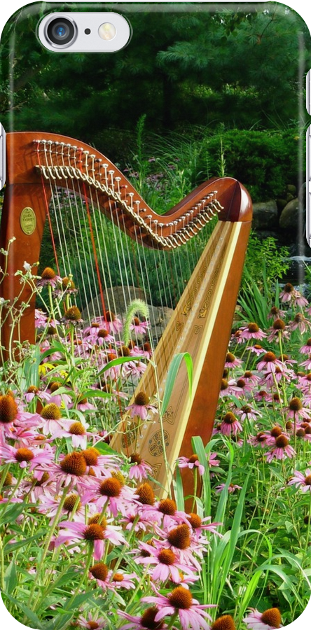 Floral Harp II by Beth Stockdell