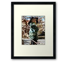 Easter Witch Framed Print