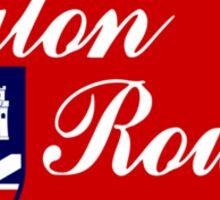 Flag of Baton Rouge  Sticker