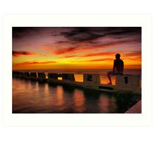 Merewether Ocean Pool Art Print