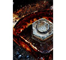 Rusted up too! Photographic Print
