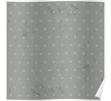Flower dots background Poster