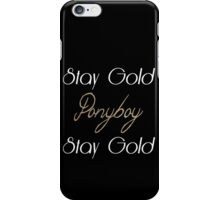 The Outsiders iPhone Case/Skin